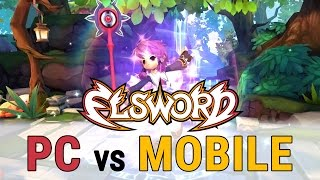 ELSWORD: PC vs MOBILE COMPARISON | Which is better?
