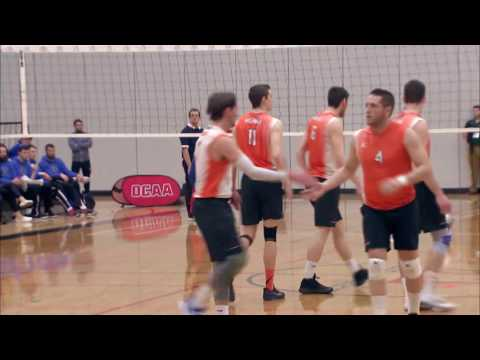 OCAA Men's Volleyball Championship - Game 11 - Mohawk vs Durham