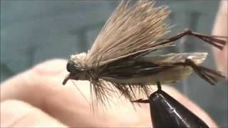 Fly Tying A Grasshopper # 2 With Jim Misiura