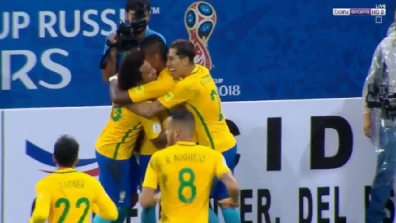 Download Brazil vs Paraguay 3- 0   All Goals Highlights   World Cup 2018 QUAlifiers