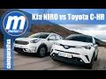 Toyota CHR vs. KIA Niro / Comparativa / Review / Testdrive