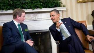 President Obama Meets with Taoiseach Kenny