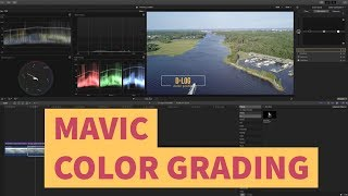 DJI Mavic Color Grading: D-Log v D-Cinelike