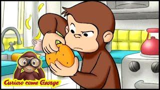 Curioso come George La Carta da Regalo  Cartoni Animati per Bambini George la Scimmia