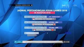 Download Video Jadwal Pertandingan Asian Games 2018 Pada 25 Agustus MP3 3GP MP4