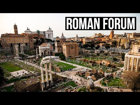 When In ROME 🇮🇹 | The Roman Forum | VLOG DAY 2 [4K]