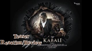 Kabali Teaser Reaction | Review By Tapaas Testers