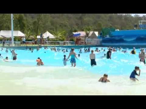 Wave Pool At Wet 39 N 39 Wild Youtube