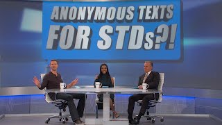 Anonymous Service Shares STD Results with Partners?