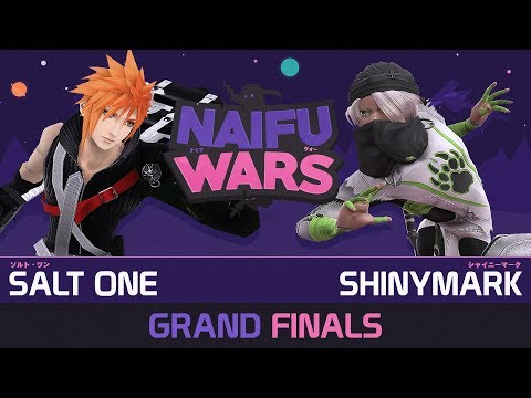 Naifu Wars #19 Grand Finals - Salt One ( Cloud ) vs ShinyMark ( Sheik ) - Smash Wii U