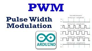 ما هو PWM Pulse Width Modulation  و كيف تتحكم في شدة الاضائة به