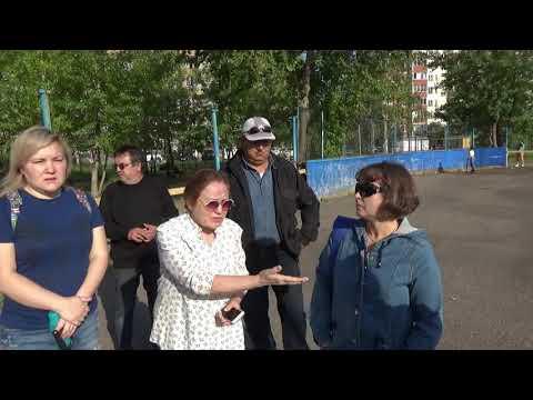 С приходом Хабирова у детей начали отнимать детские площадки