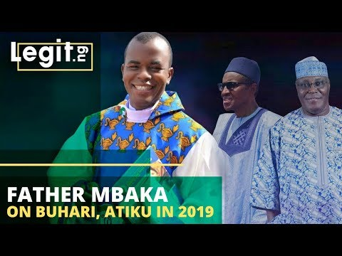 Nigeria Latest News: Father Mbaka On Buhari, Atiku In Nigeria Election 2019 | Legit TV