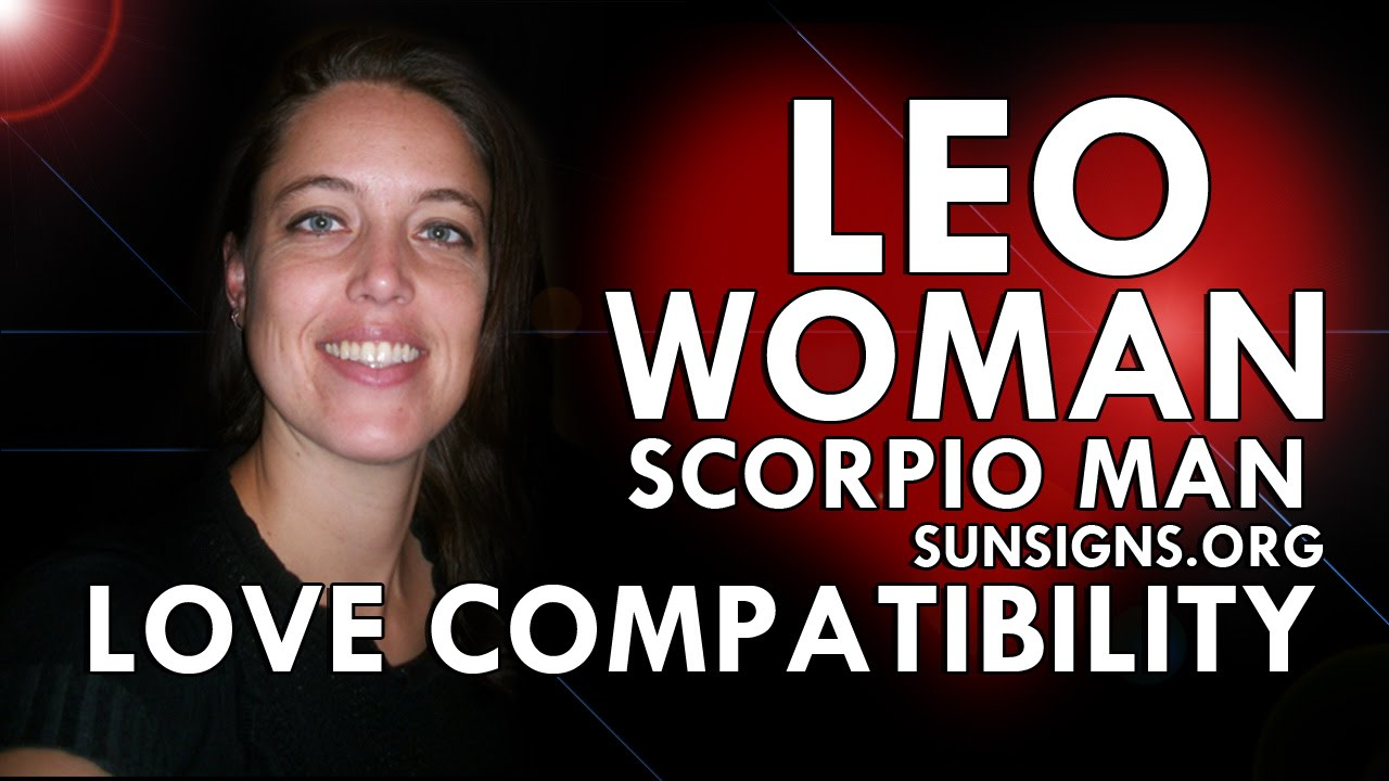 Scorpio male hookup a leo female