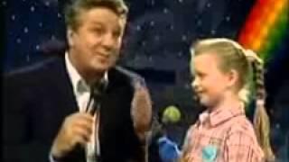 Nicole im Kinderquatsch mit Michael Schanze