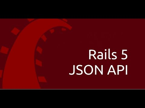 Rails 5 JSON API with JSONAPI-resources