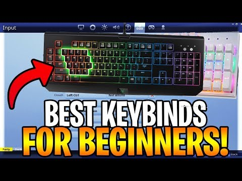 *BEST* FORTNITE KEY BINDING GUIDE FOR BEGINNERS! (Fortnite Battle Royale)