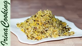 МАДЖАДРА - рис с чечевицей 👍 Восточная Кухня Mujadrah - Lentils and Rice Recipe ○ Ирина Кукинг