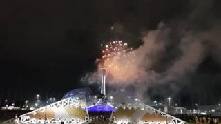 Отборочный тур Мирового  фестиваля фейерверков Сочи 2018. Выступление Пиророс 3 часть