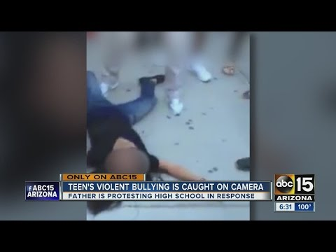 Teen's violent bullying caught on camera