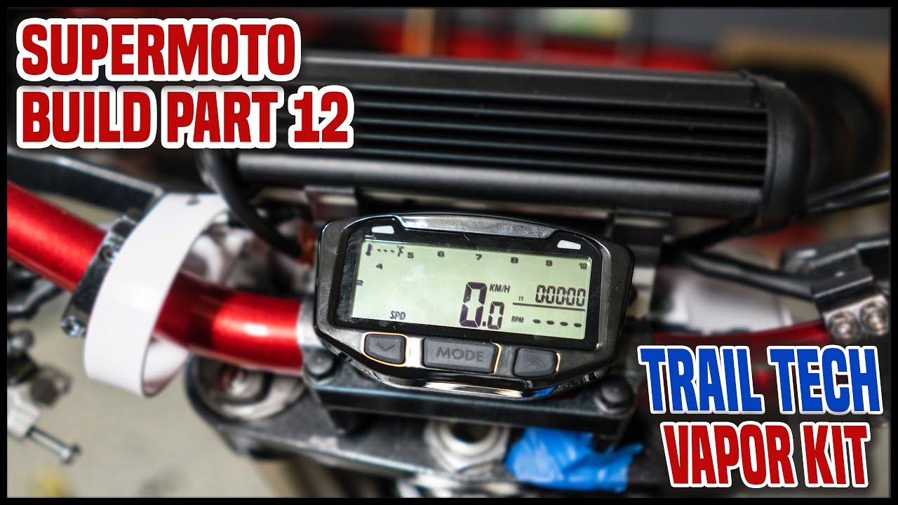 Adding a SDOMETER to a DIRT BIKE [Supermoto Build Part 12] on