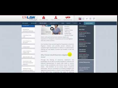 US Law Network Business Litigation | Us Law Firm
