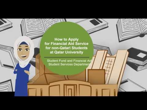 How to apply for Financial Aid (for Non-Qatari Students)