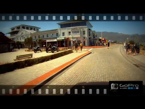 Join me on a Drive along marine drive in Hermanus with a GoPro