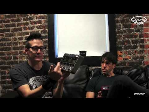 Richard Patrick & Phil Buckman from Filter talk about the Zoom G3 and B3 Effects Pedals
