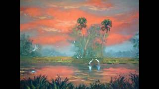 Everglades Fire Sky Painting By Mazz
