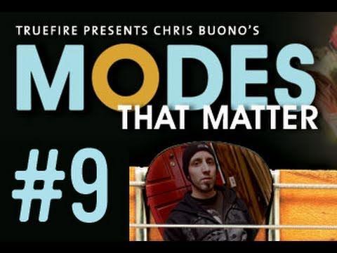 Guitar Lessons & Scales - Modes That Matter - #9 Phrygian Major Klezmer