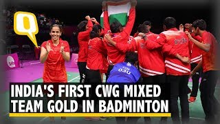 CWG Highlights: Badminton and TT Teams' Gold Medal Wins   The Quint