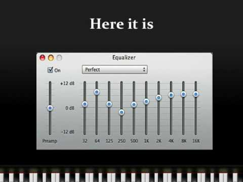 Perfect iTunes Equalizer Setting - YouTube