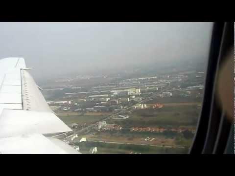 "Boeing 777 - landing in Bangkok ""Suvarnabhumi"" - TranceAERO charter"