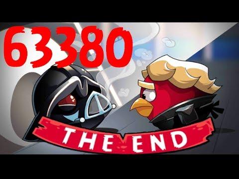 Darth Vader & Emperor BOSS BATTLE   Angry Birds Star Wars 6-30 by 3starsgoldenegg