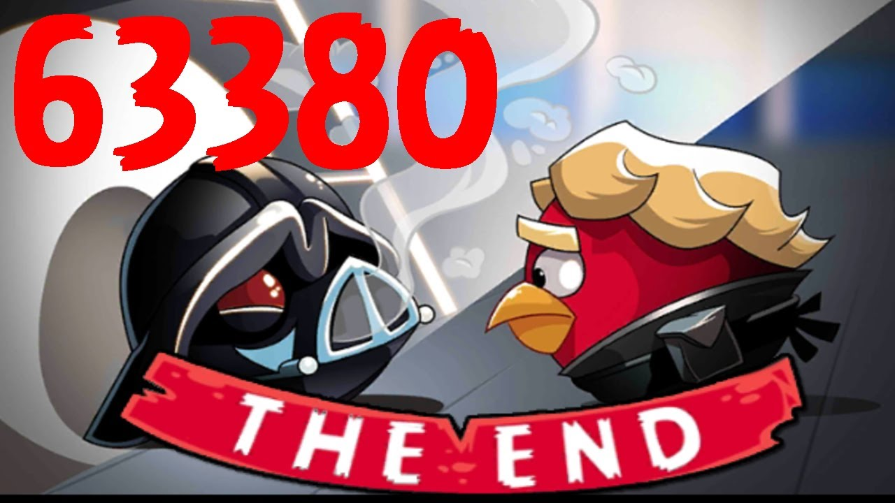 Darth Vader & Emperor BOSS BATTLE Angry Birds Star Wars 6