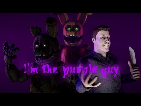 [FNaF SFM] I'm the purple guy REMASTERED by DAGames (ReBorn)