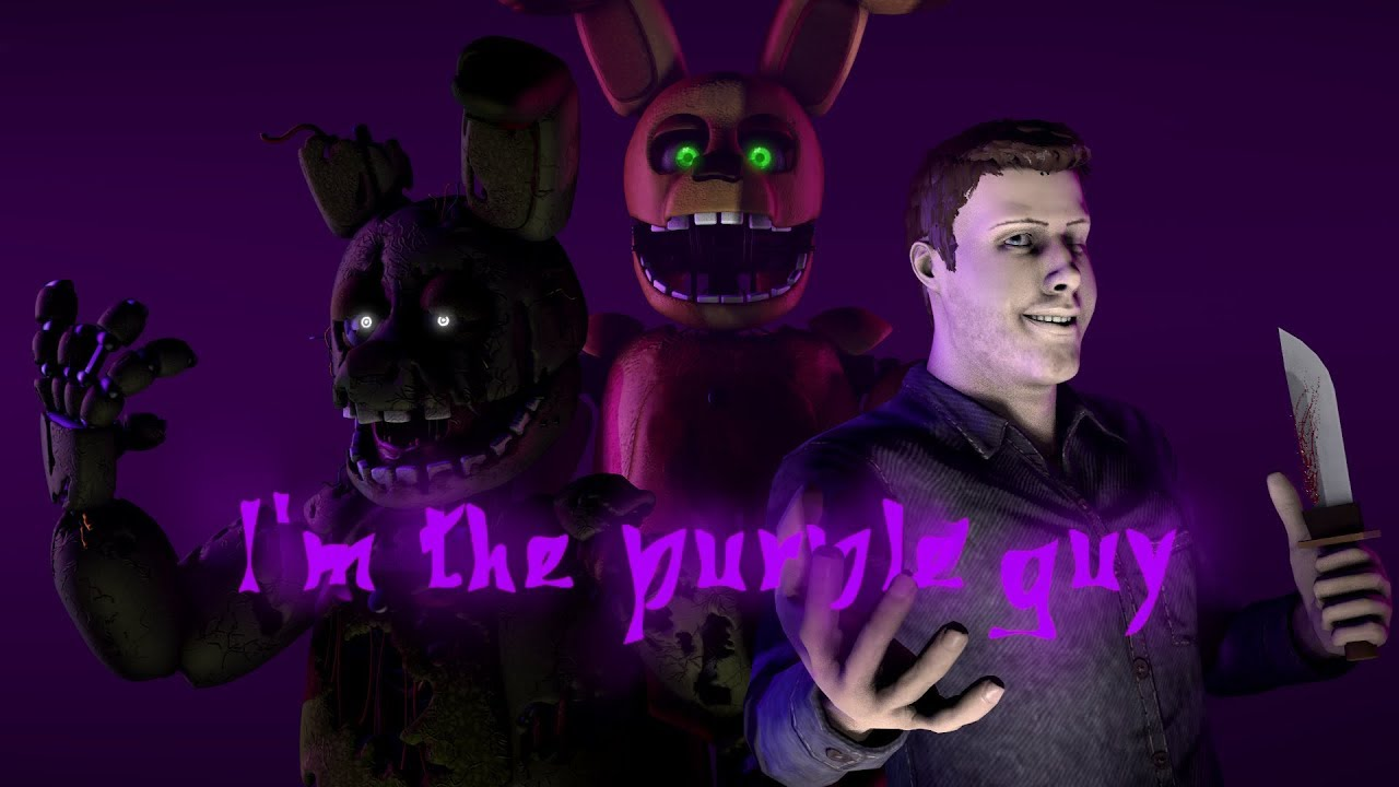 [FNaF SFM] I'm The Purple Guy REMASTERED By DAGames