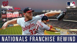 A rewind through the Washington Nationals franchise