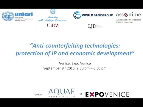 Anti-counterfeiting technologies: protection of IP and economic development