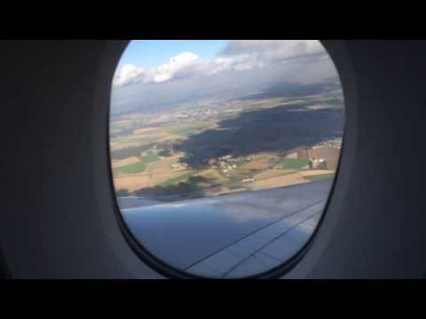 Air France Business Class - Paris to Washington DC - A380 Upper Deck