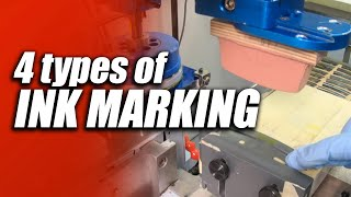 4 Types of Ink Marking of parts - CT Laser & Engraving