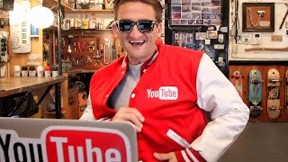 do you know about the OFFICIAL YouTube Jacket??(KYLE'S YOUTUBE CHANNEL https://www.youtube.com/kyleskelly123 DOWNLOAD BEME (it's free) and add me; https://beme.com/casey music by Taylor ..., 2016-01-13T14:00:01.000Z)