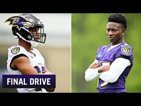 Ravens Rookies Have the Best NIcknames | Ravens Final Drive