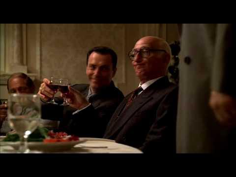 The Sopranos Legendary Scene, Junior Becomes New Boss [HD]