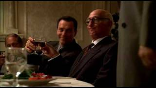 The Sopranos Legendary Scene, Junior Becomes New Boss [HD]