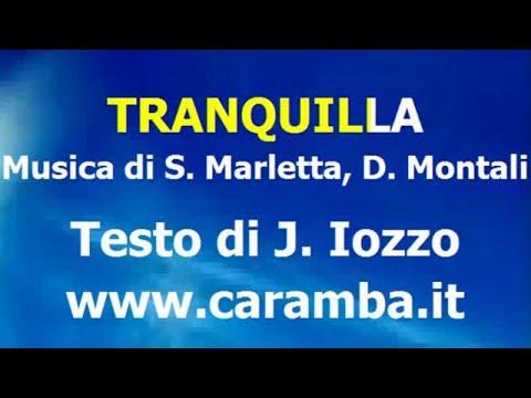 Davide Montali - Tranquilla (karaoke)