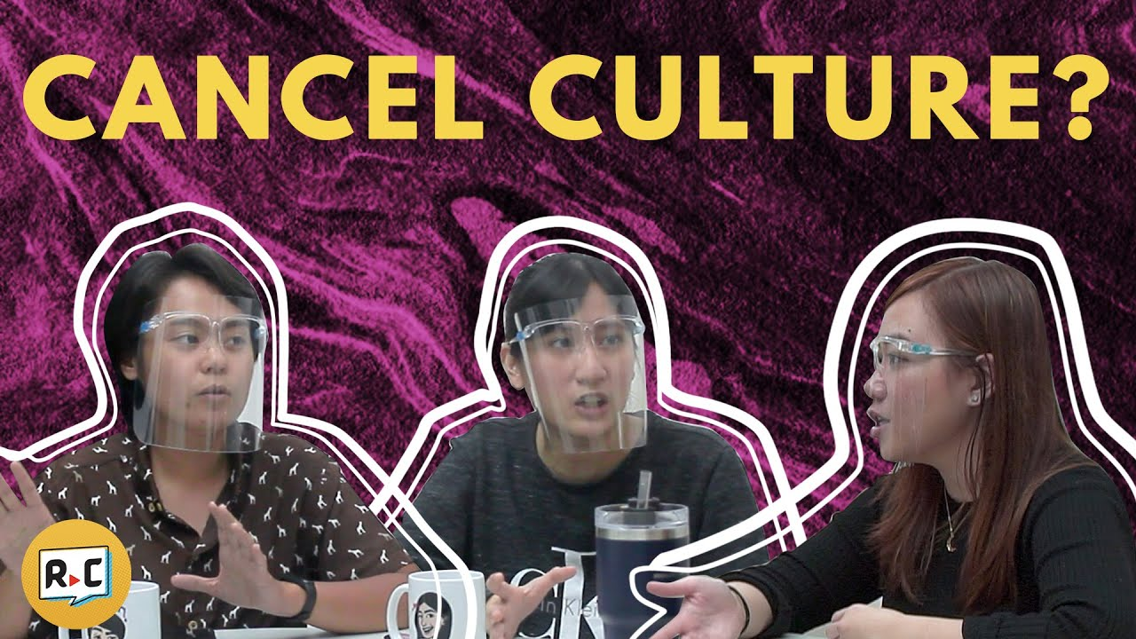 Should Cancel Culture Be Cancelled? | Filipino | Rec•Create