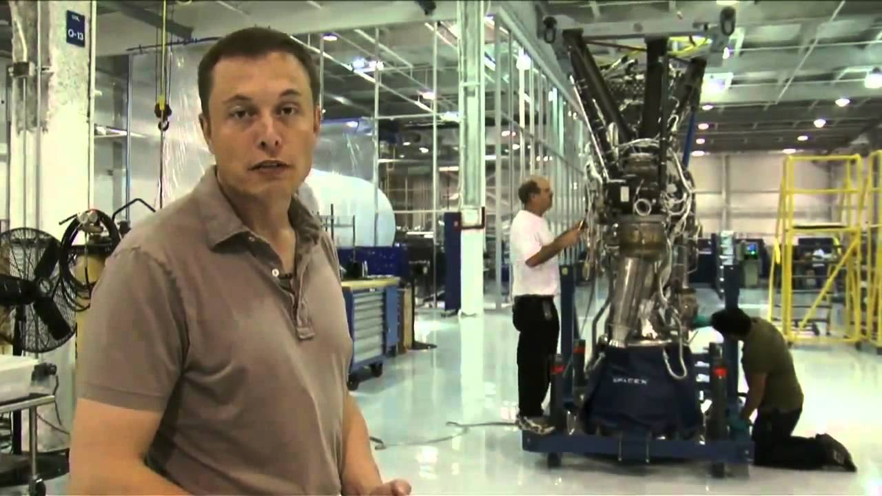 Elon Musk Tour of SpaceX - YouTube