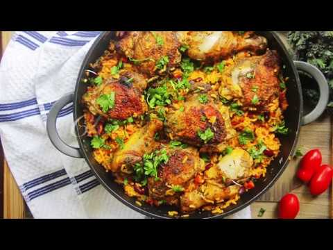 One Pot Chicken And Rice Dish